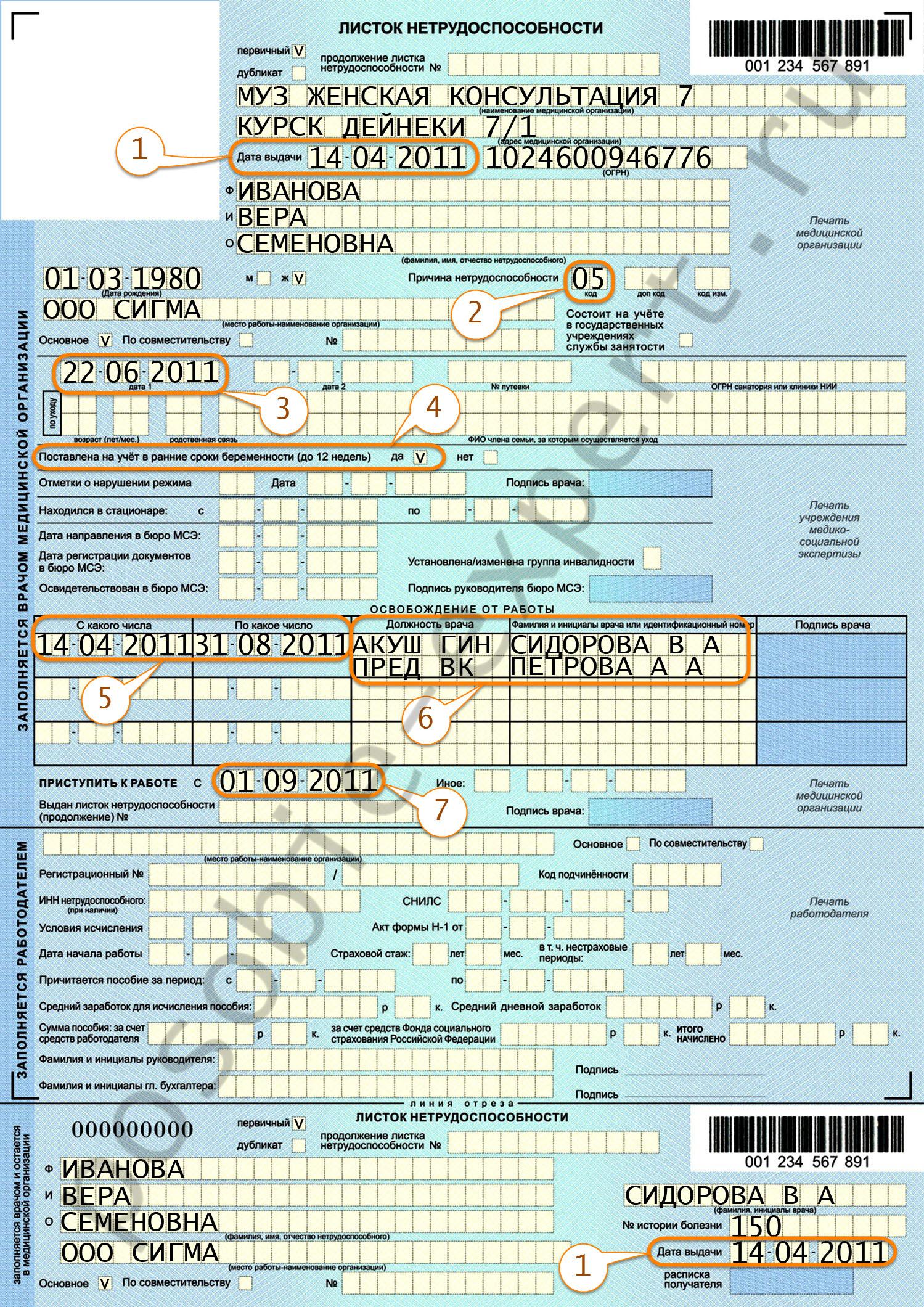 выплаты по беременности и родам в 2013: