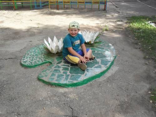 Детские площадки своими руками в картинках