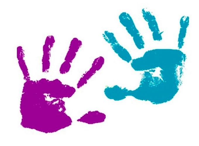 Как сделать отпечатки рук и ножек малыша на бумаге - Gallery-Oskol.ru