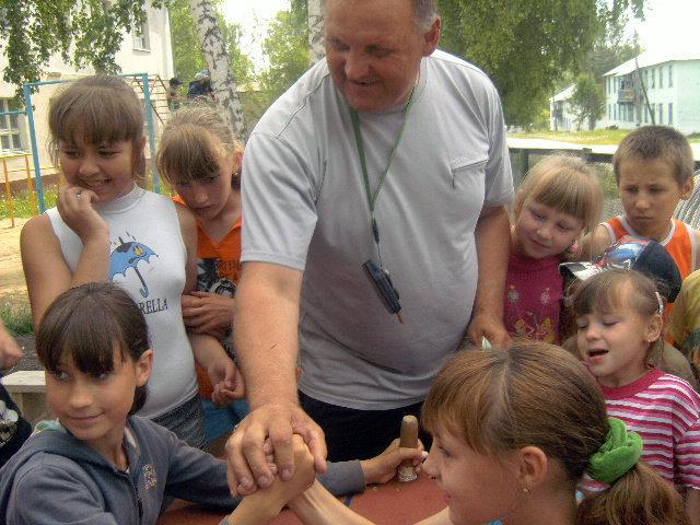 Отчет о работе летнего лагеря